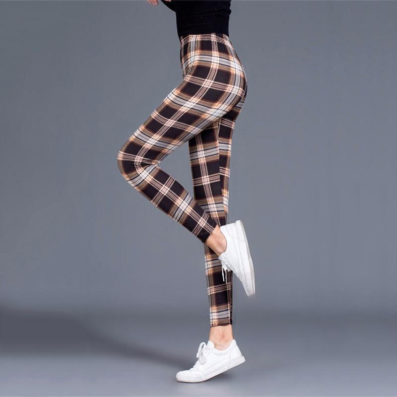 Pantalon Legging a Carreau Femme | Miss Carreaux