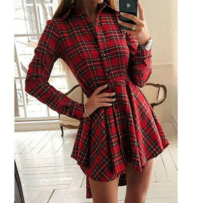 Robe à Carreaux Tartan | Miss Carreaux