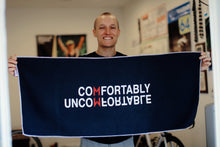 "Load image into Gallery viewer, ""Comfortably Uncomfortable"" Sweat Towel"