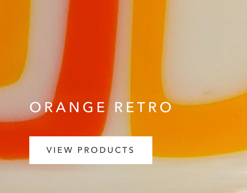 Collection by A Fiery Heart: Orange Retro