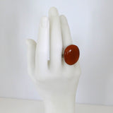 Fused Glass Statement Ring