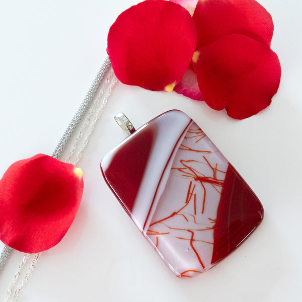 Bold Red Statement Pendant