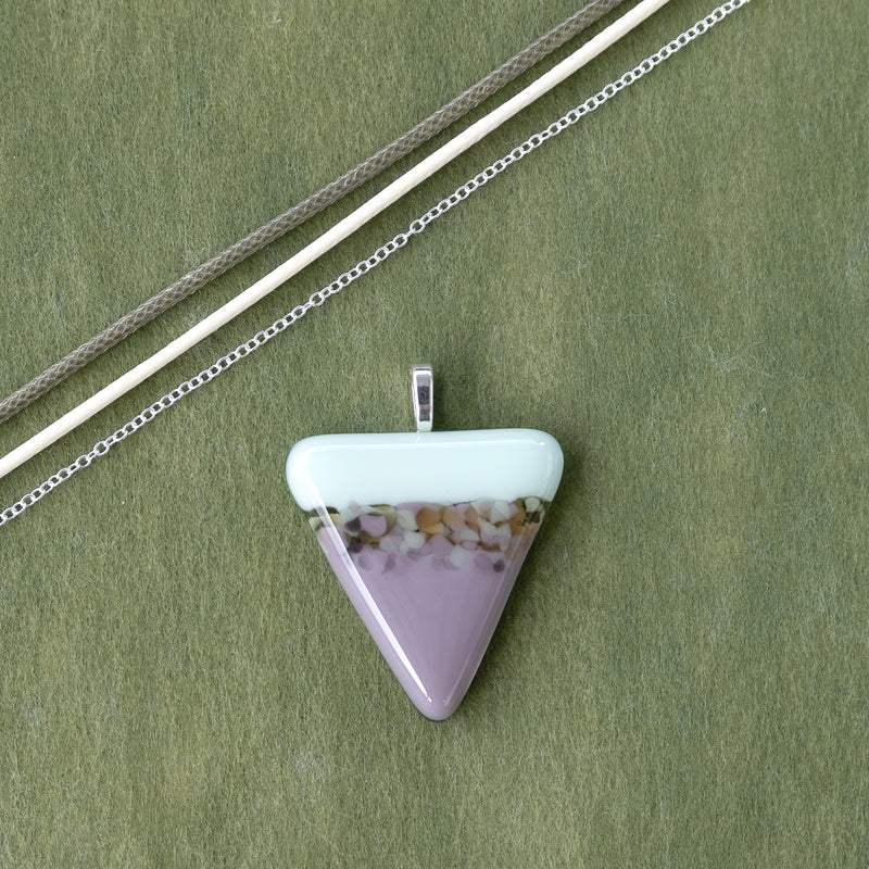 Spring Pastels | Pendant - Small Triangle