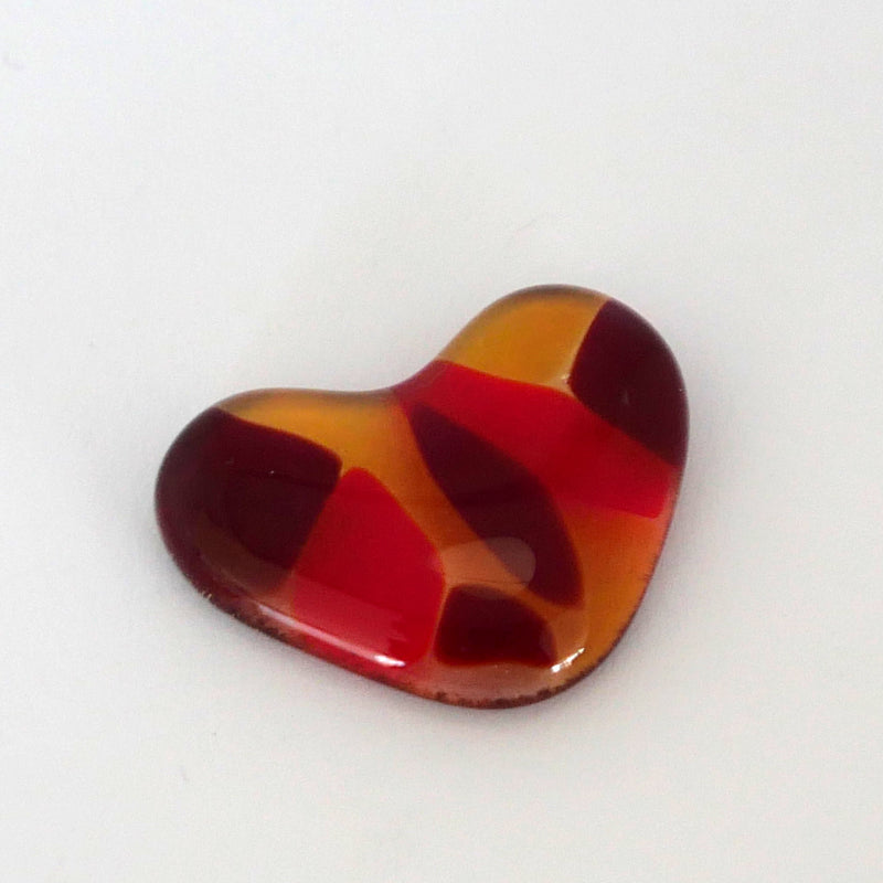 Pocket heart, worry stone
