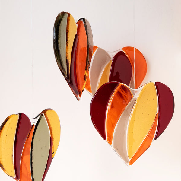 Heart Suncatcher | Fall colours