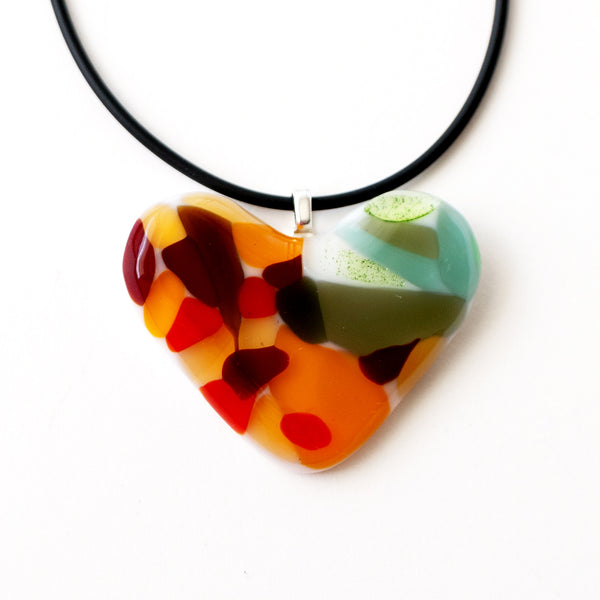 Love | Colourful Heart Pendant 2