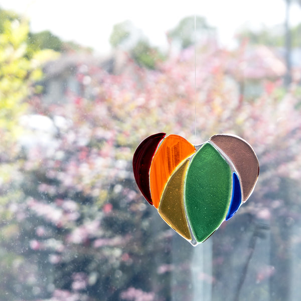 Heart Suncatcher | Rainbow
