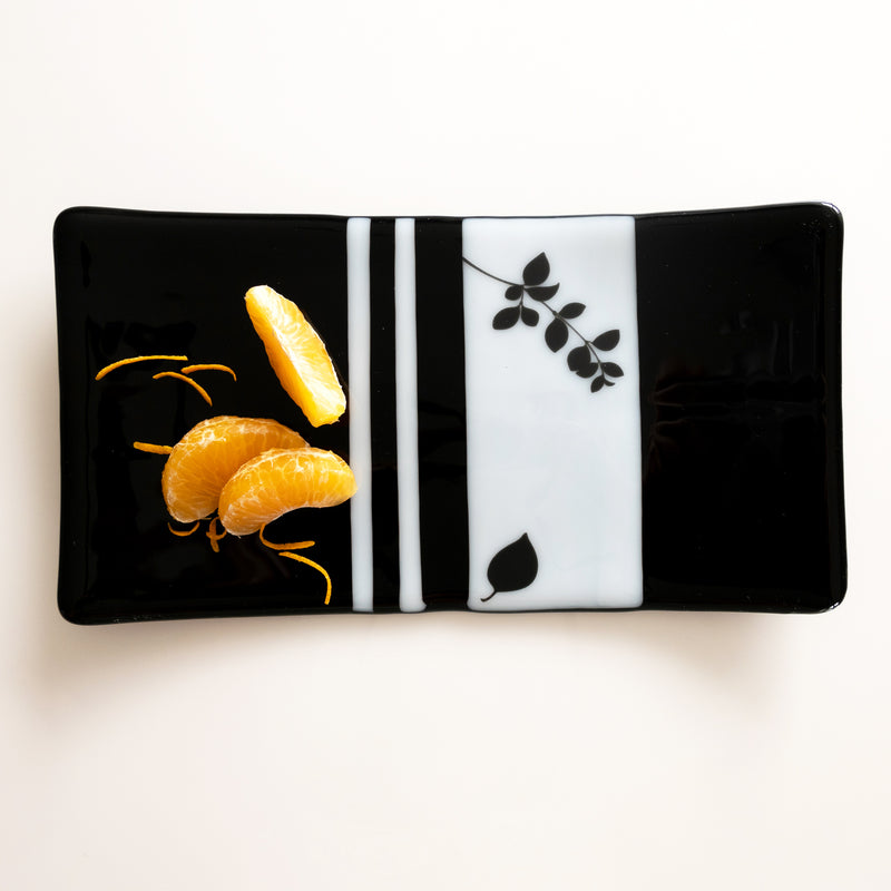 A one-of-a-kind dish / platter, sushi plate