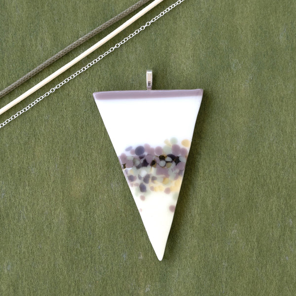 Spring Pastels | Pendant - Large Triangle