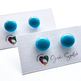 Uni-colour | Stud earrings - Medium
