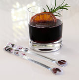 Swizzle sticks | Dark Orchid (Duo, Set of 2)