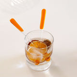 Swizzle sticks | Orange (Set of 4)
