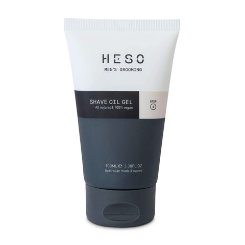 HESO Men's Grooming - Shave Oil Gel - 100ml