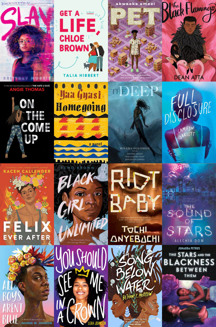 RECOMMENDED BOOKS BY BLACK AUTHORS PART 1