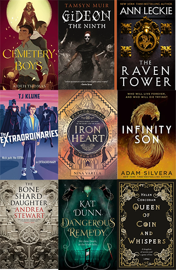 Top LGBT Fantasy Novels