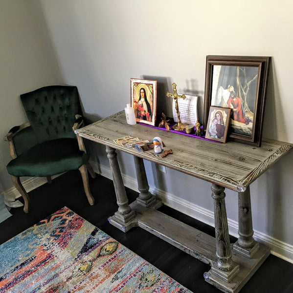 The Home Altar: Creating a Dedicated Prayer Space