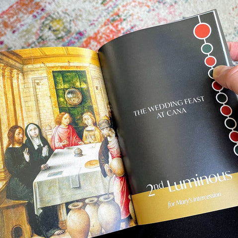 A Painted Rosary Book