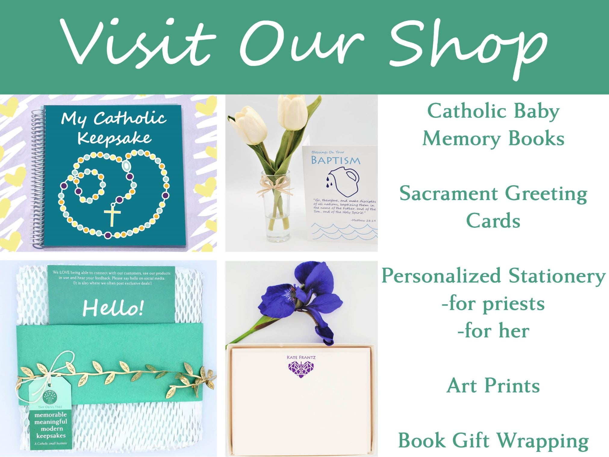 Visit Thy Olive Tree Shop