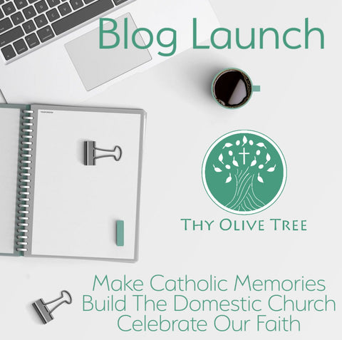 Thy Olive Tree Blog Launch