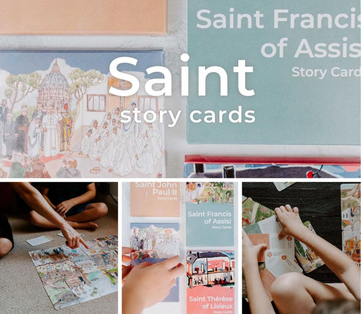 Greenhouse Collective Saint Story Cards