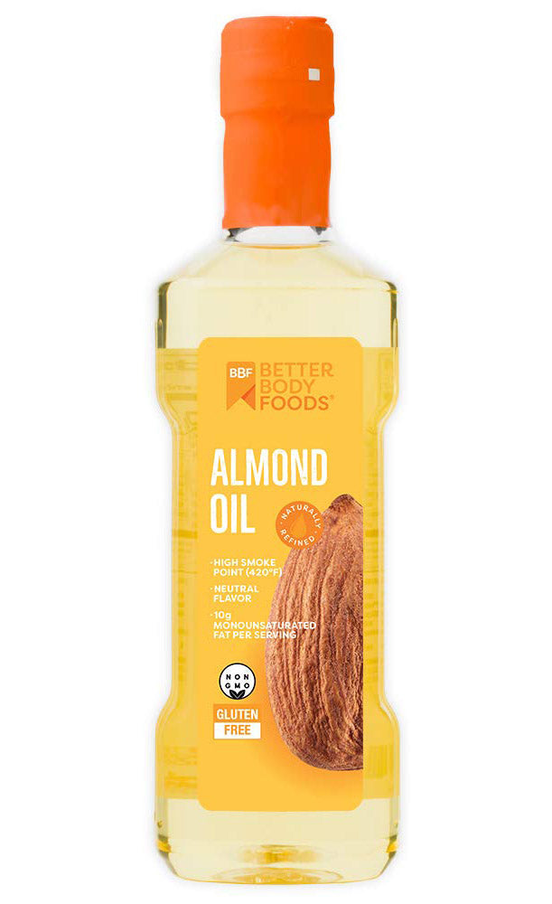 BBF Naturally Refined Almond Oil for Cooking