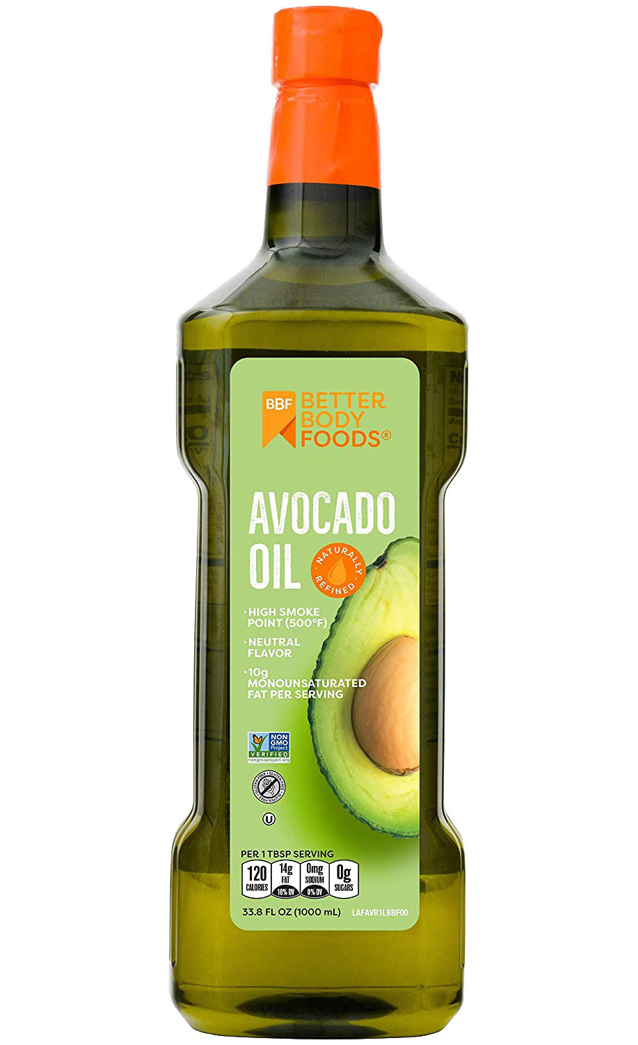 BBF 100% Pure Avocado Oil for Cooking