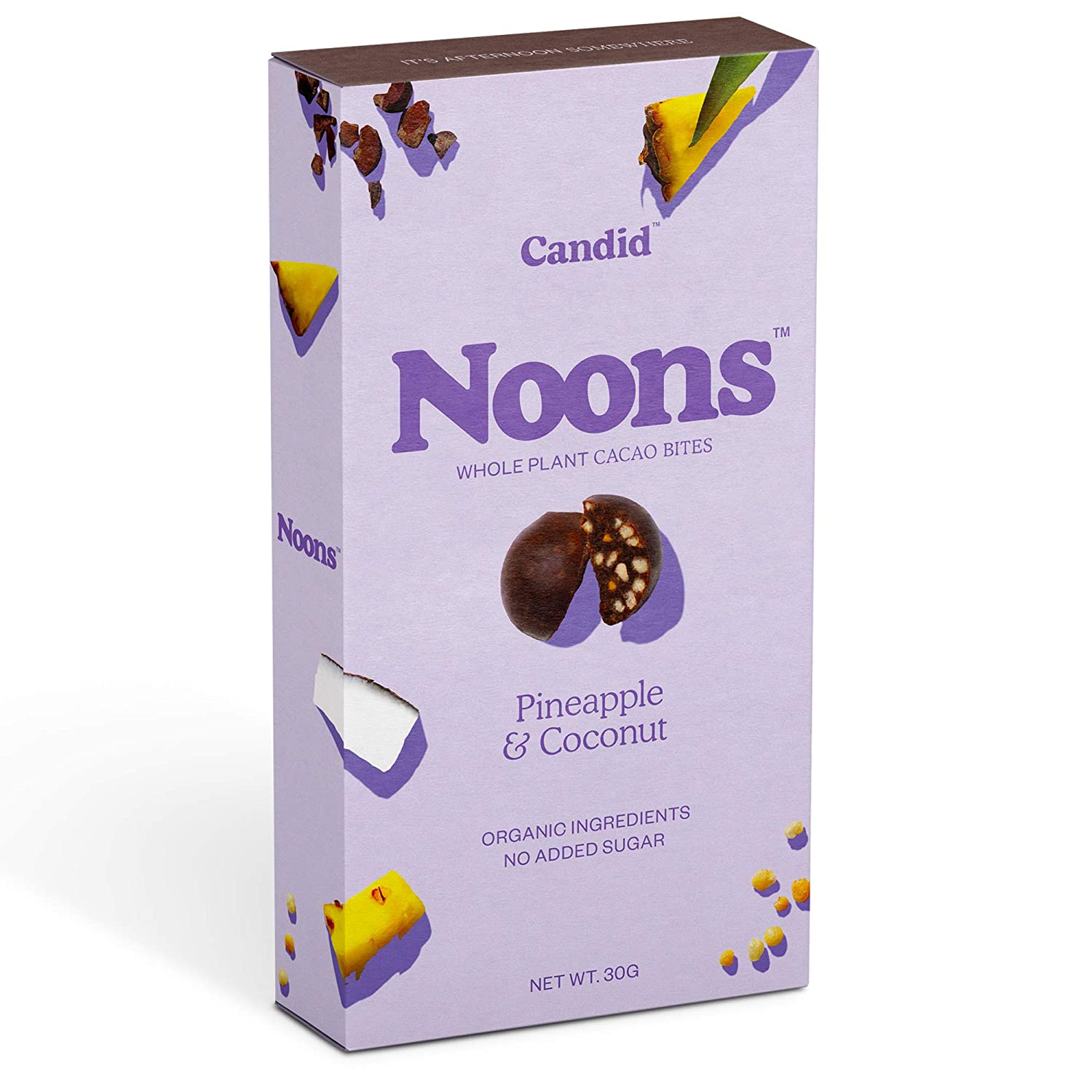 Noons - Pineapple & Coconut Cacao Bites