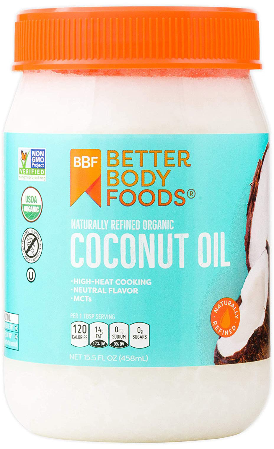 Organic Naturally Refined Coconut Oil