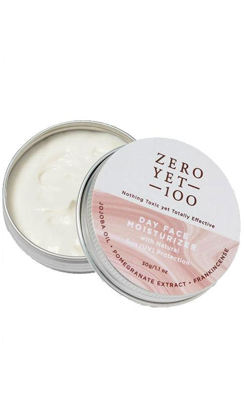Zero Yet 100 - Day Face Moisturizer with Sun Protection