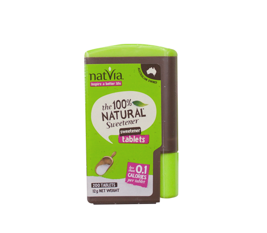 Natvia 100% Natural Sweetener with Organic Stevia