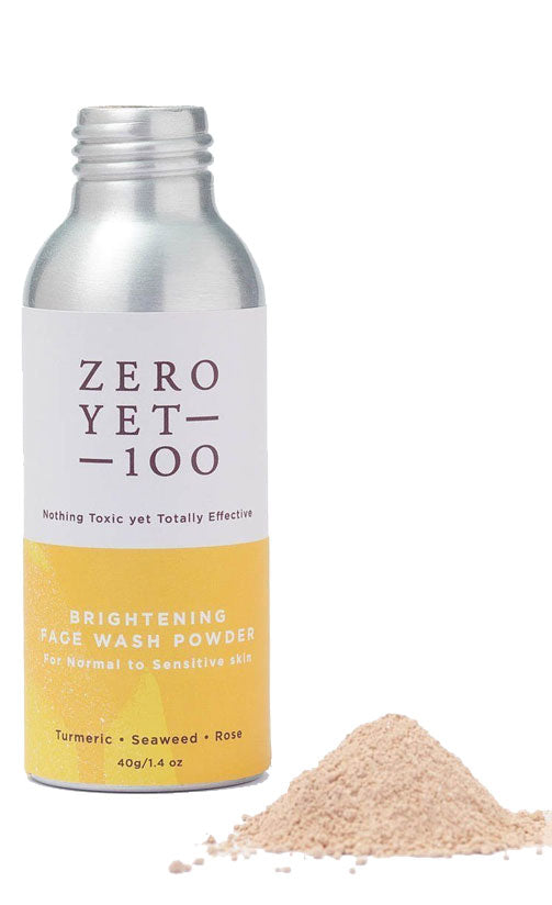 Zero Yet 100 - Brightening Face Wash Powder