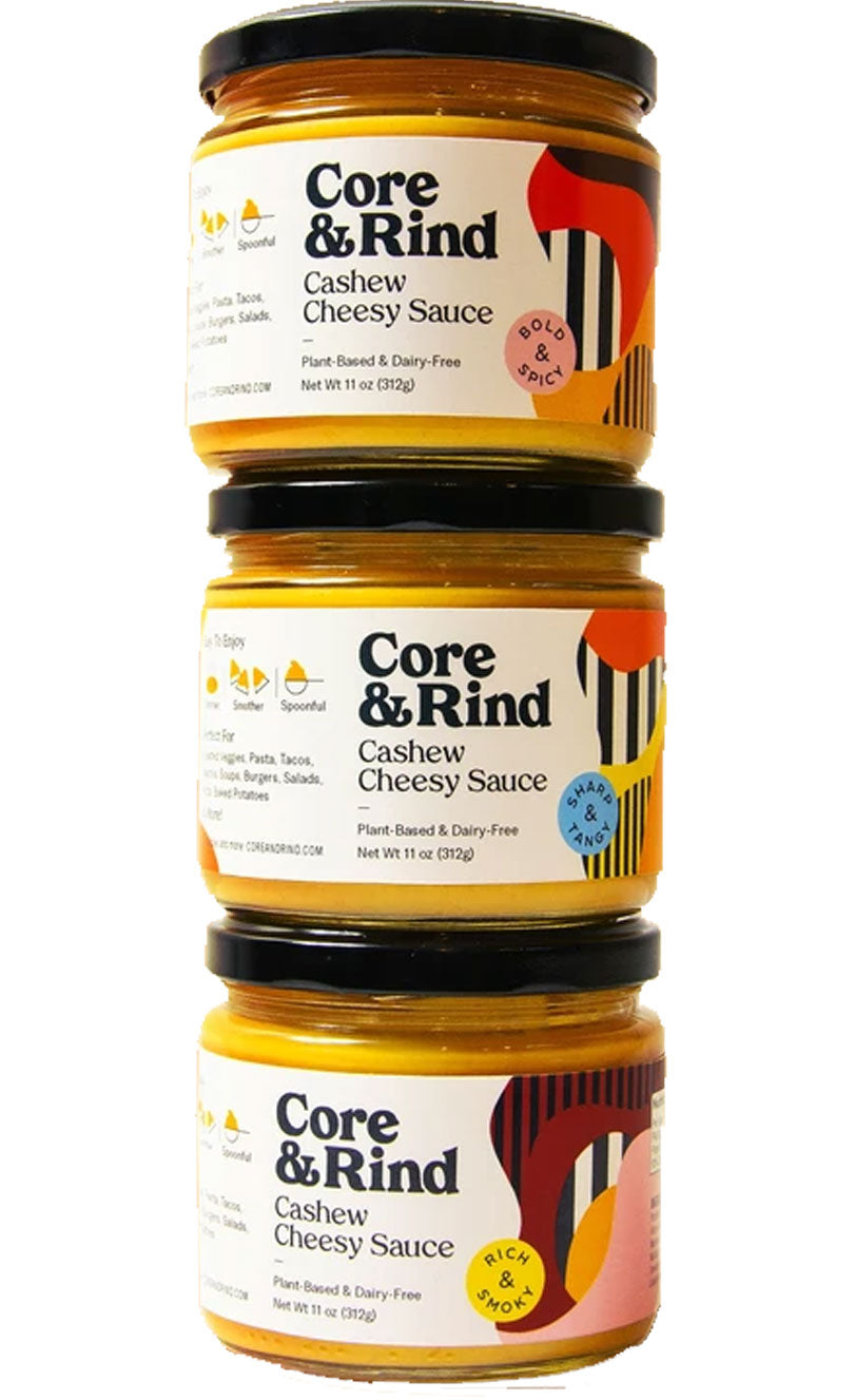 Core & Rind Cashew Cheesy Sauce - Variety [Discovery Bay Only]