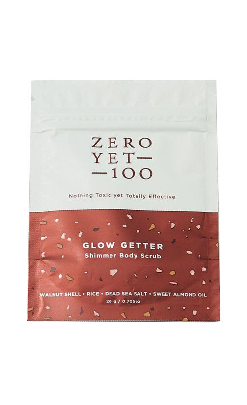 Zero Yet 100 - Glow Getter Body Scrub Mini