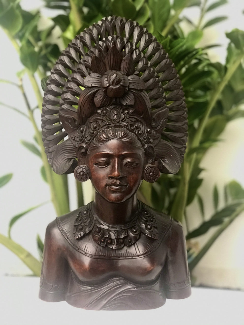 Hand Carved Balinese Tribal Woman