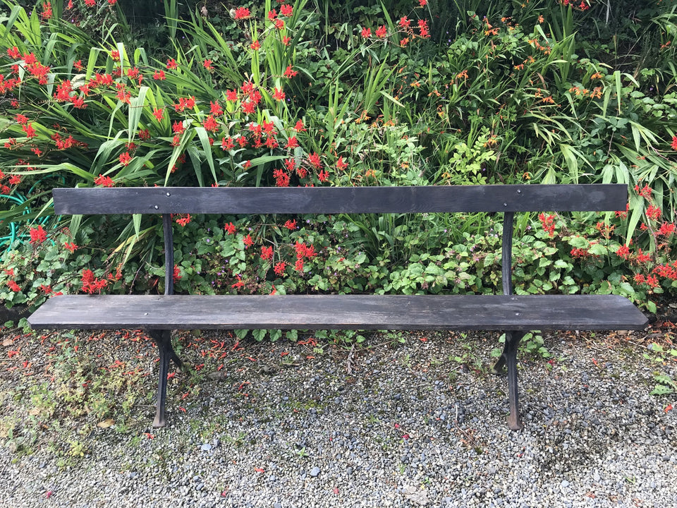 Vintage Railway Station Bench