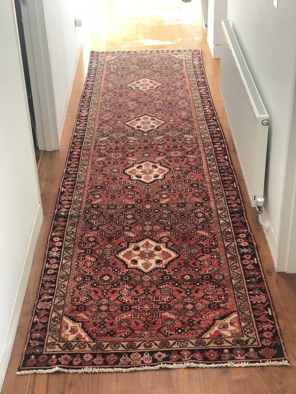 Persian Handwoven Sendash Runner
