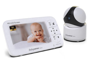 HD Video Baby Monitor, 1 Camera, V65 - Babysense