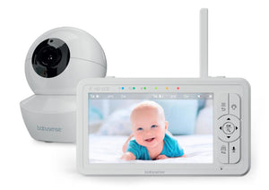 NEW! HD Split Screen Video Baby Monitor, HD S2 1 Cam - Babysense