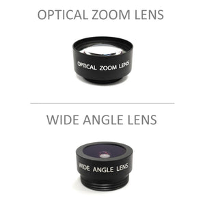 Wide Angle and Optical Zoom Lens Pack - for V24R - Babysense