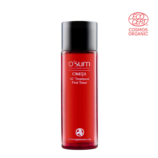 O'SUM OMIJA AC Treatment First Toner 120ml (COSMOS certified)