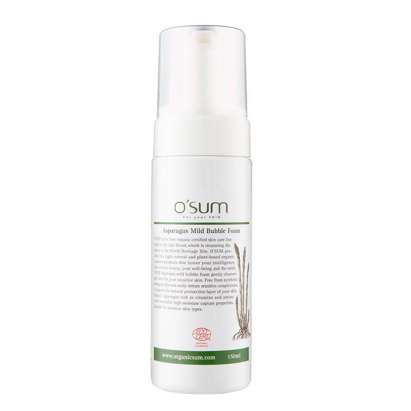 O'SUM Asparagus Mild Bubble Foam 150ml