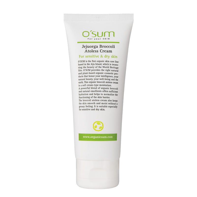 O'SUM Jejuorga Broccoli Atoless Cream 100ml