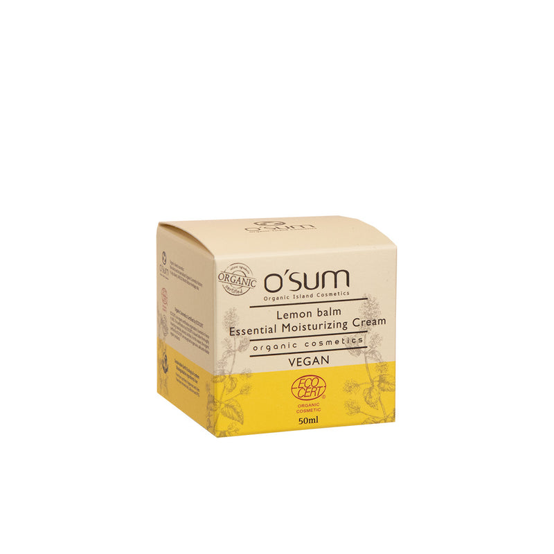 O'SUM Lemon Balm Essential Moisturizing Cream 50ml