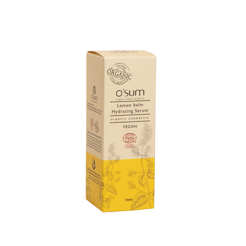 O'SUM Lemon balm Hydrating Serum 30ml
