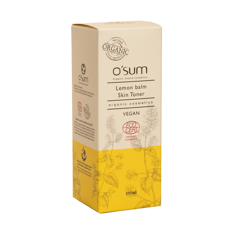 O'SUM Lemon balm Skin Toner 105ml