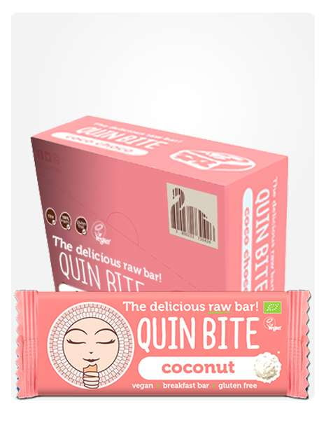 Quin Bite Coconut box