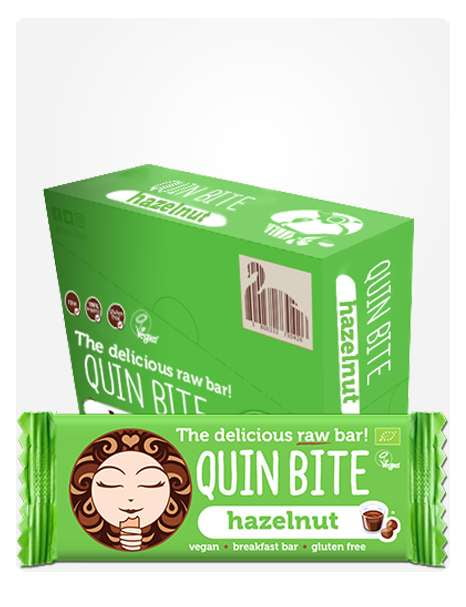 Quin Bite Hazelnut box