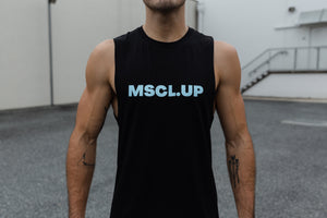 MSCL.UP Men's Buluuy Singlet