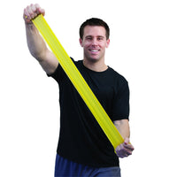 Sup-R Band® Latex Free Exercise Band - 50 yard roll - Yellow - x-light