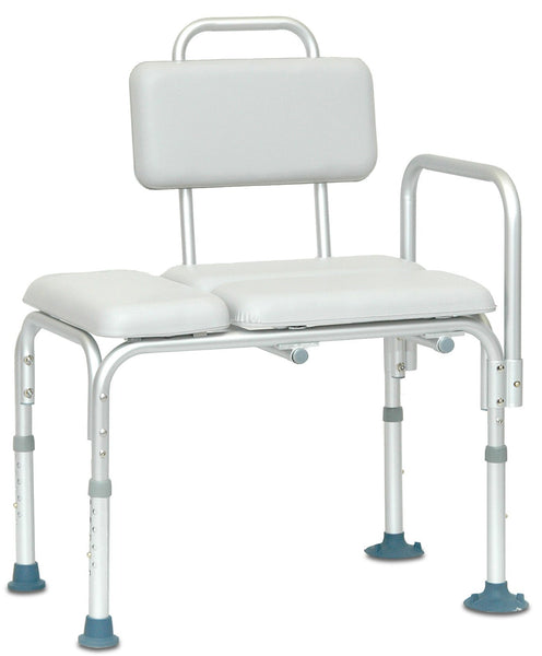 Padded Transfer Bench, 300lb Weight Capacity - US MED REHAB